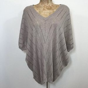 💋MNG Basic Knit Dolman Batwing Sweater Top Sz S